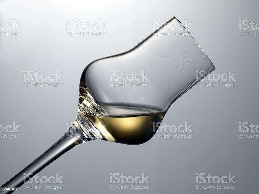 Grappaglas royalty-free stock photo