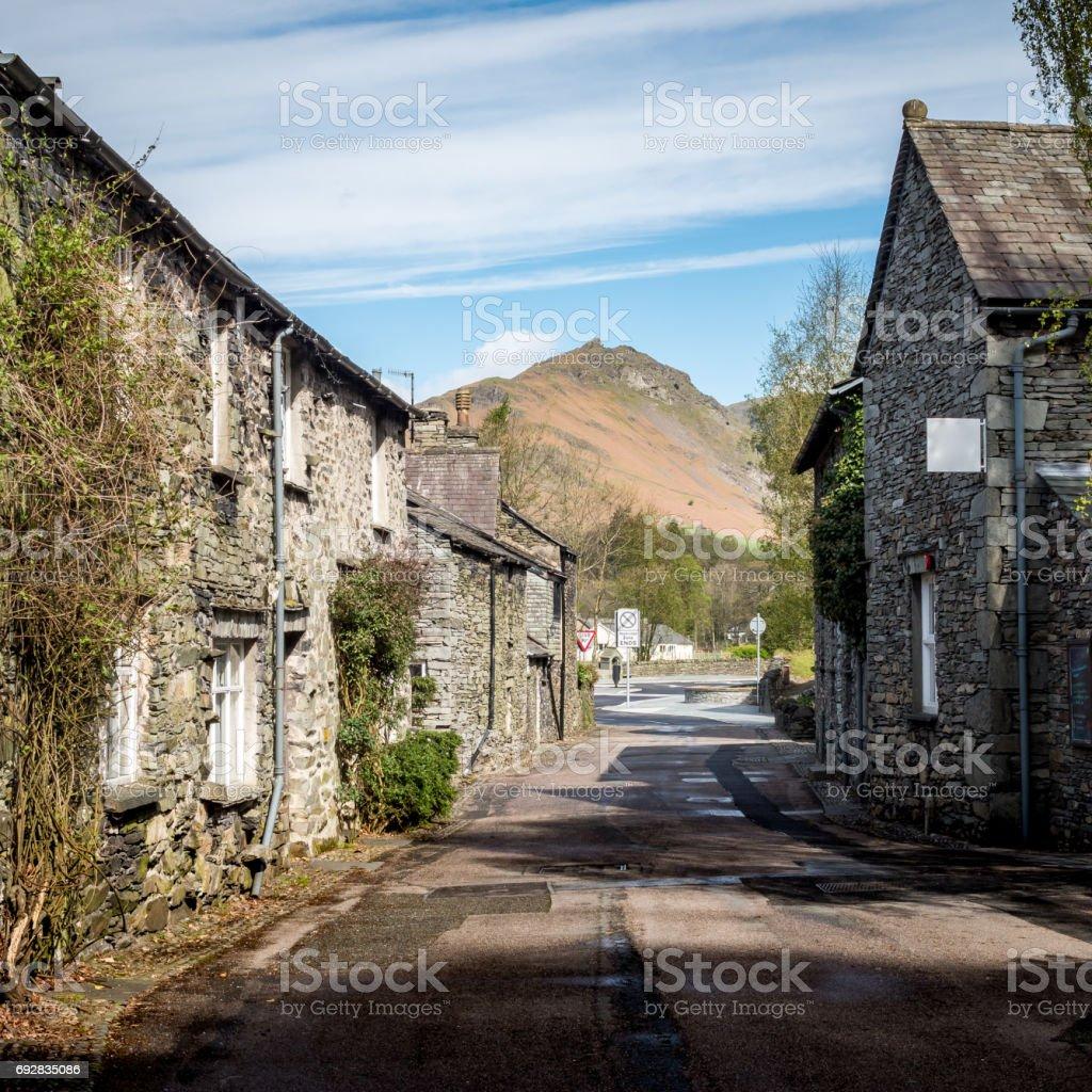 Grasmere, Lake District, Cumbria, England stock photo