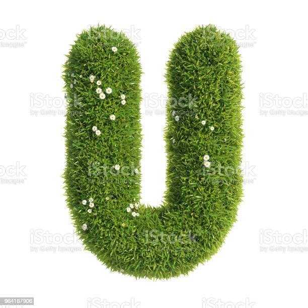 Grass font 3d rendering letter u picture id964167906?b=1&k=6&m=964167906&s=612x612&h=9yqd deg4sv9i7fzhp7qniio9xok5gmpfbchikrofro=