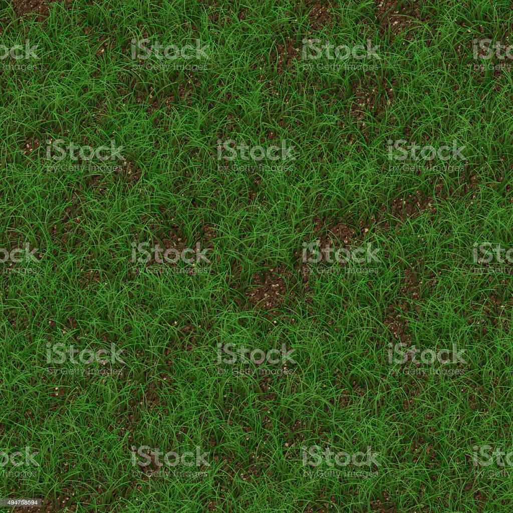 Grass generated seamless texture stock photo
