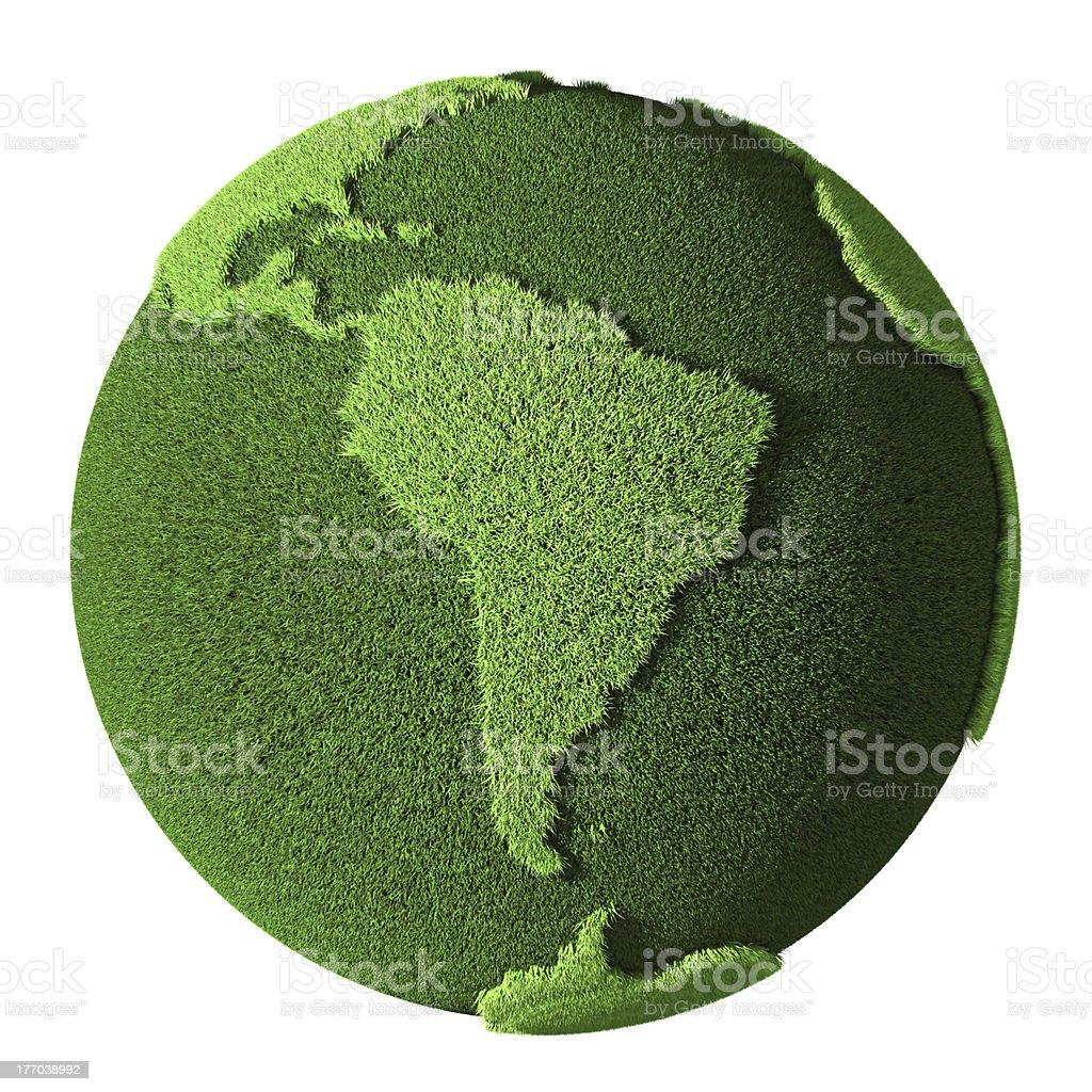 Grama mundo-América do Sul - foto de acervo