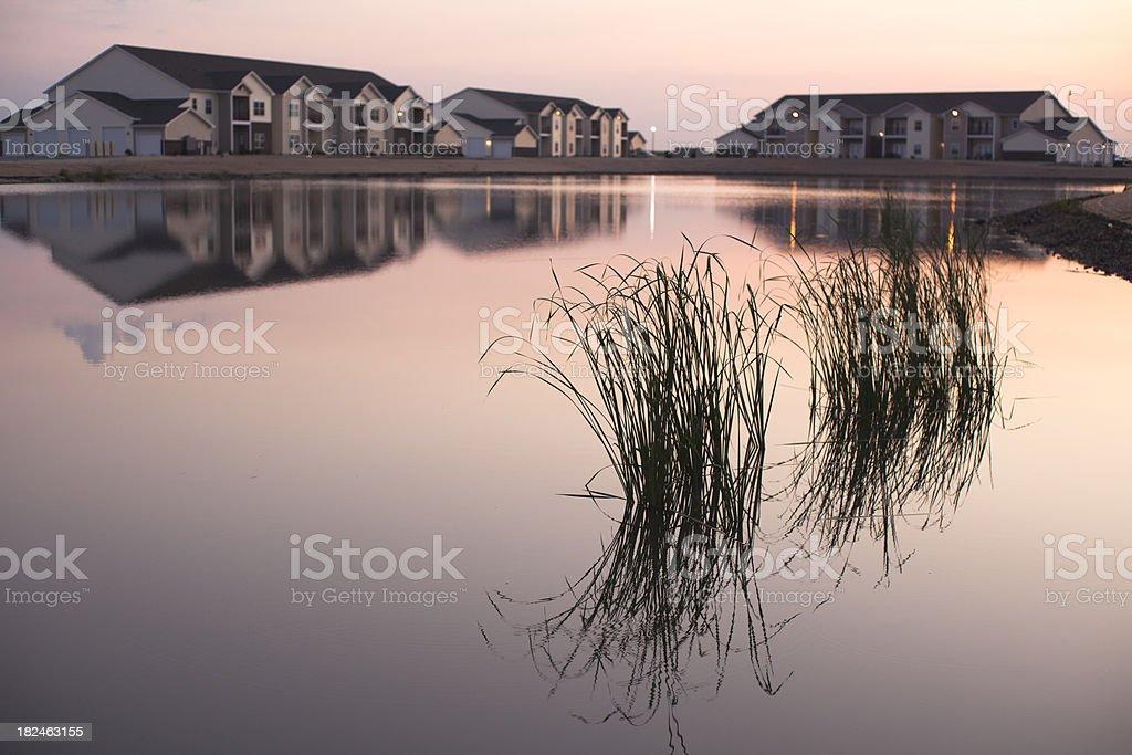 Grass Lake stock photo