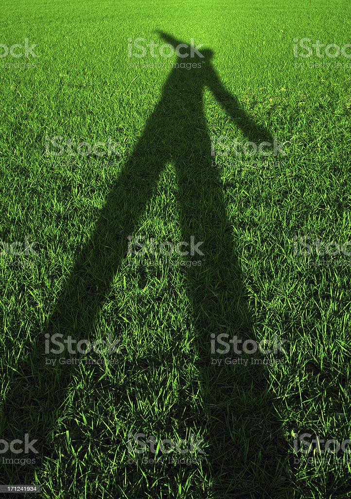 Grass monster royalty-free stock photo