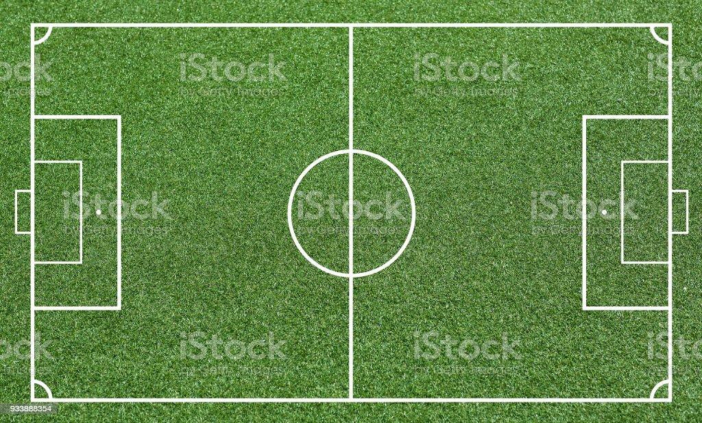 Rasen Wie Ein Fussballfeld Fussball Feld Oder Fussball Feld