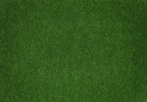 A clump of synthetic grass