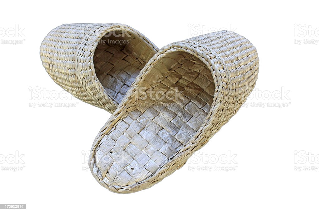 grass products shoes royalty-free stock photo