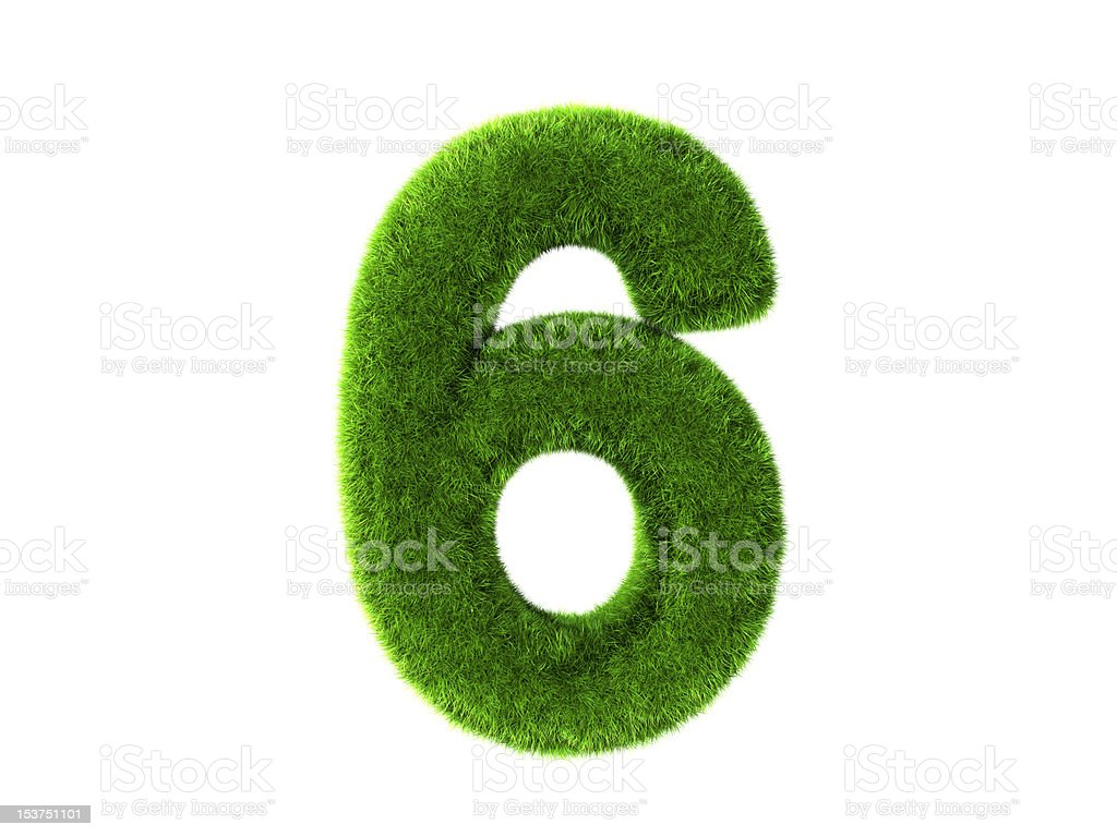Grass six royalty-free stock photo