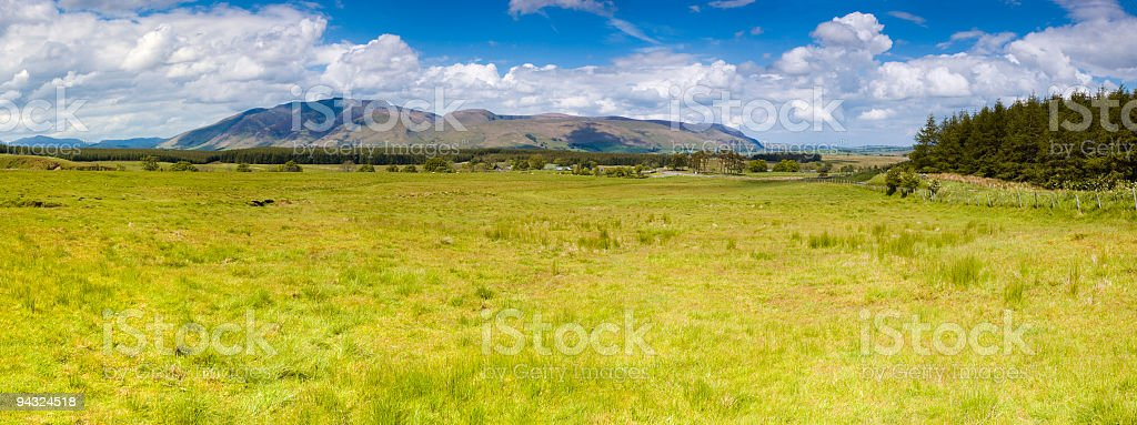 Grasslands and big skies royalty-free stock photo