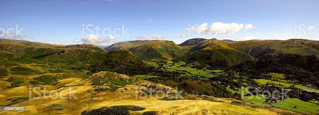 Grassmere stock photo