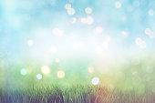 3 D 緑豊かな景観、レトロな影響