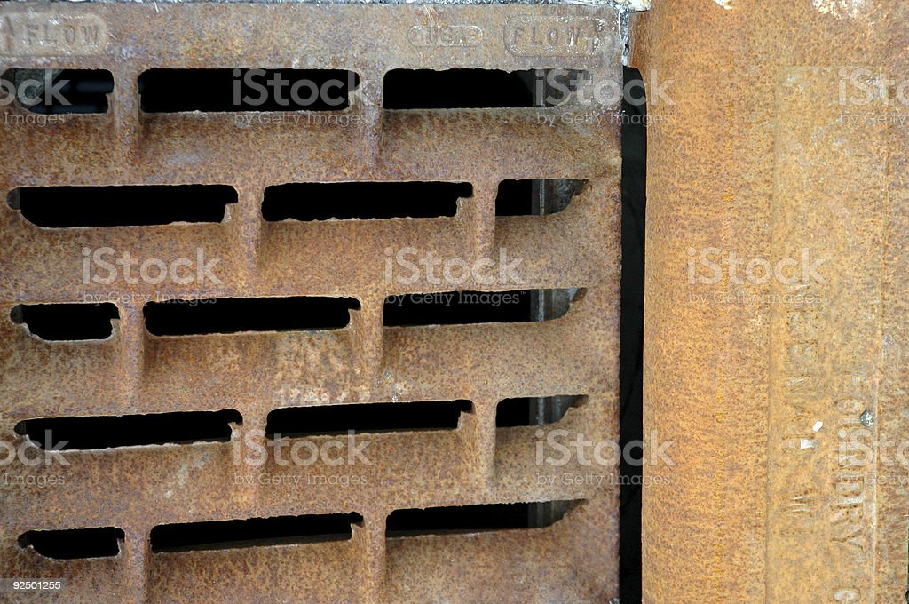 Grate I royalty-free stock photo