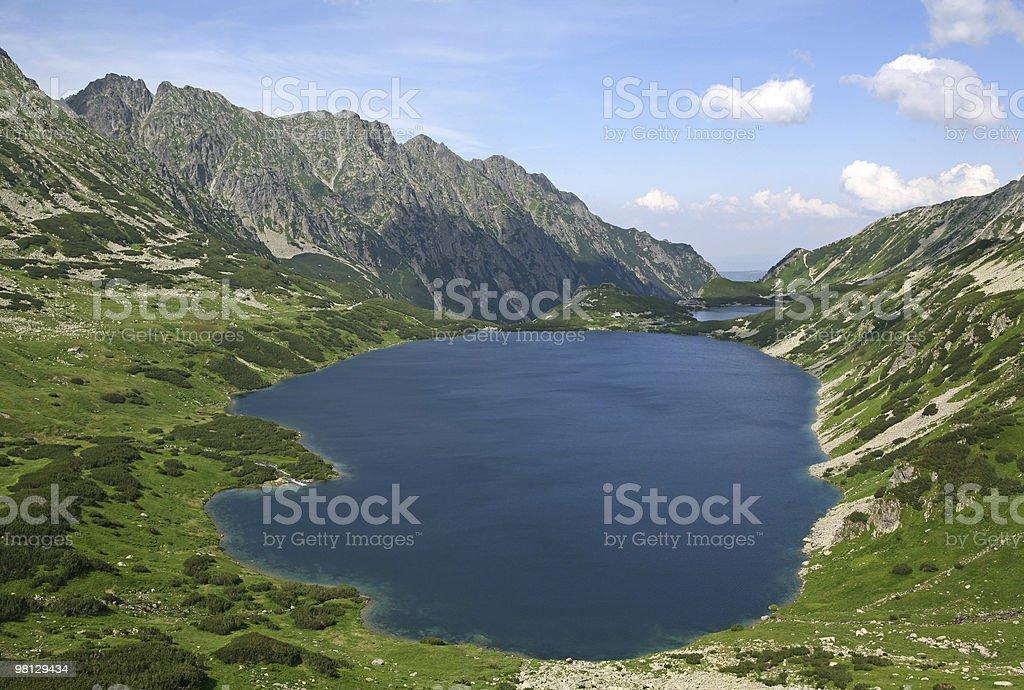 Grate lake royalty-free stock photo
