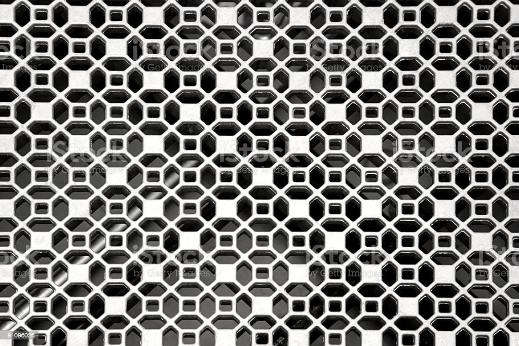 Grate Pattern royalty-free stock photo