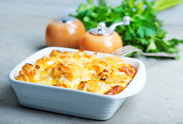 gratin - casserole stock photos and pictures