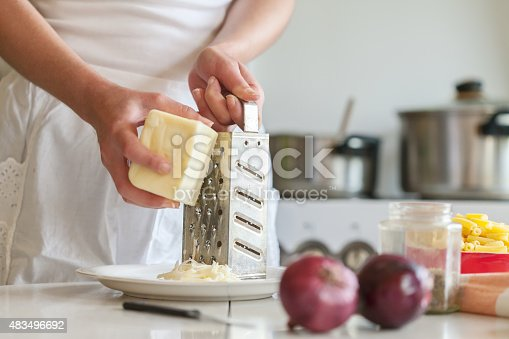 istock grating cheddar cheese 483496692