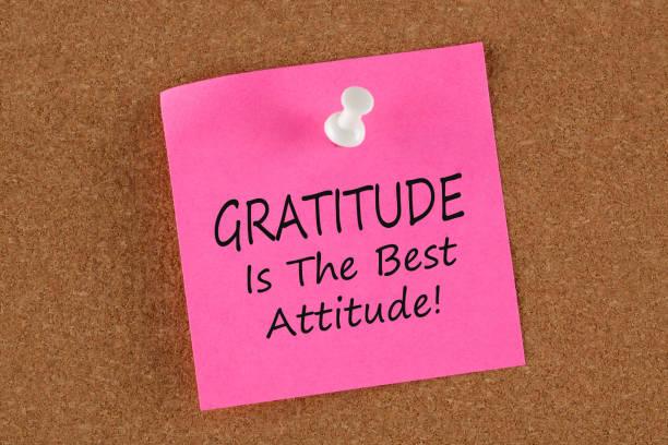 dankbarkeit ist die beste haltung-konzept - danke zitate stock-fotos und bilder