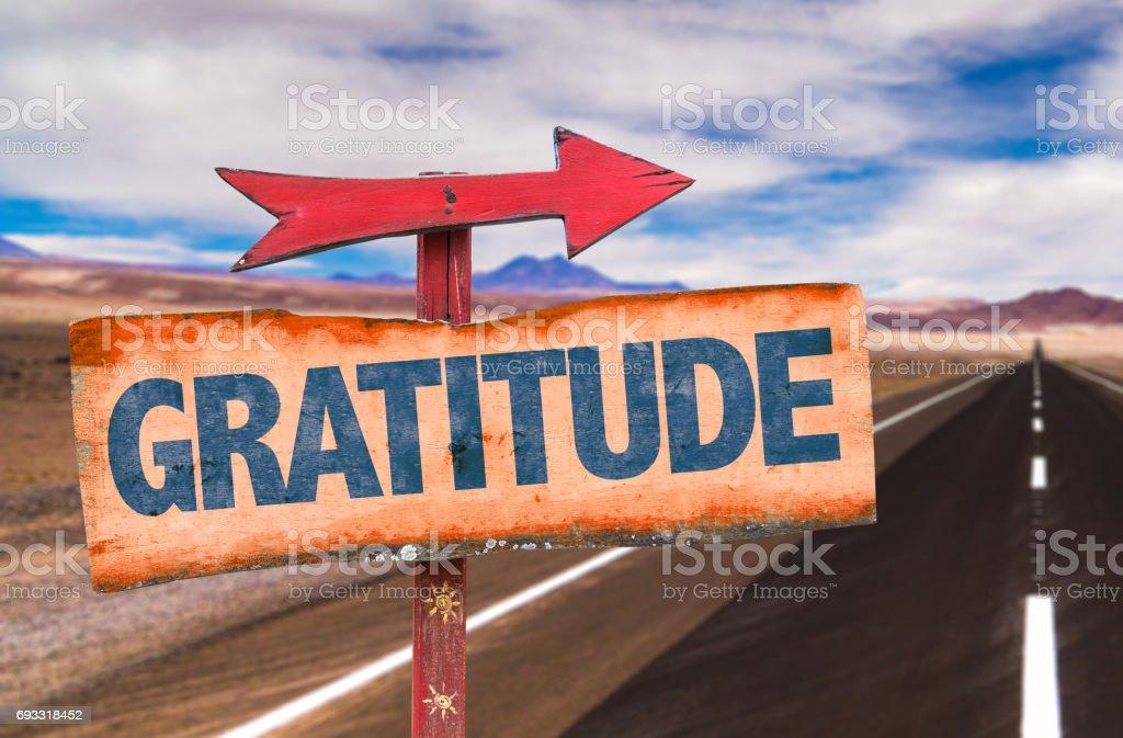 Gratitude stock photo