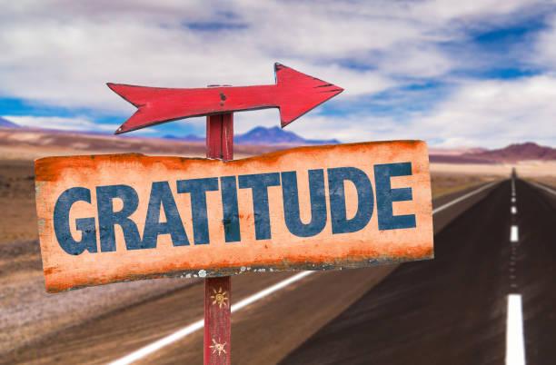 dankbarkeit - das leben genießen zitate stock-fotos und bilder