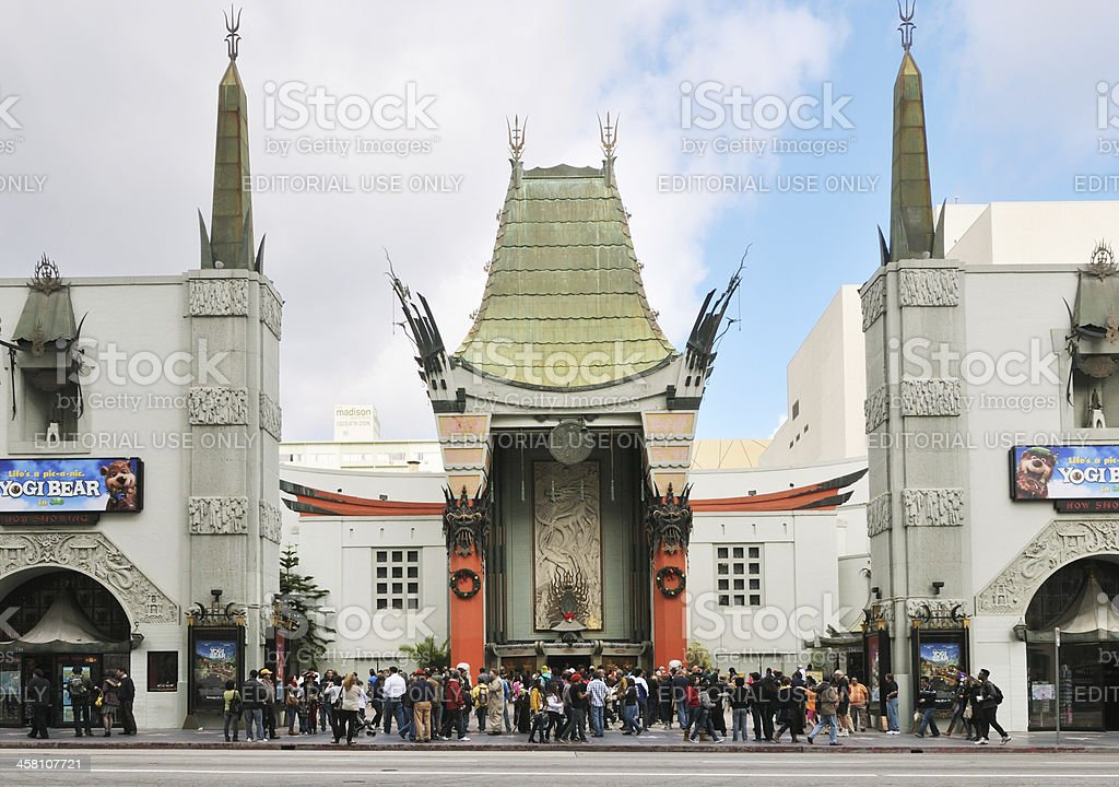 Graumann's Chinese Theater stock photo