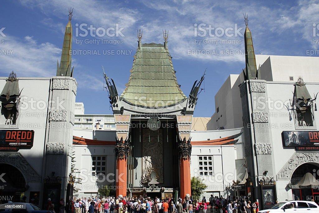 Grauman's Chinese Theater stock photo