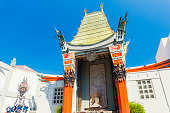 Los Angeles, California, USA - September 5, 2017: Grauman's Chinese Theatre in Hollywood, Los Angeles on a beautiful sunny day in autumn