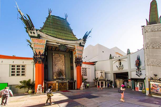 grauman's chinese theatre - promi zuhause stock-fotos und bilder