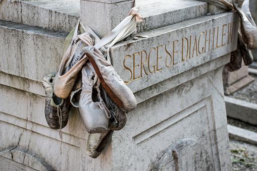 Grave of Sergei Diaghilev, San Michele Cemetery,Venice.