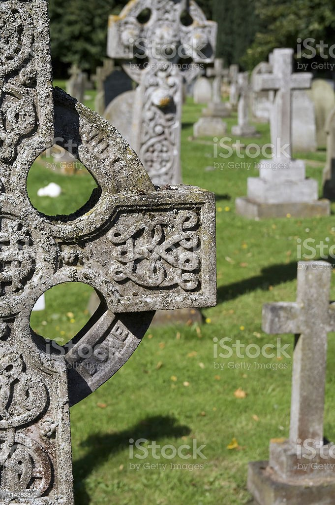 Grave... royalty-free stock photo