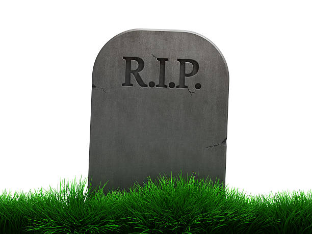 Blank Tombstone Stock Photo - Download Image Now - iStock
