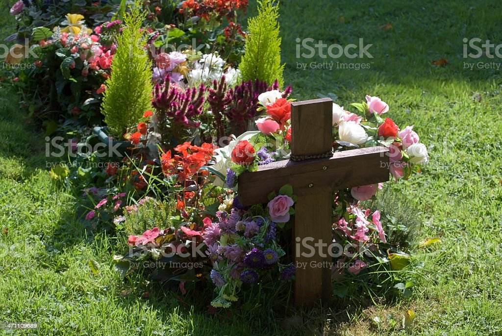 grave royalty-free stock photo