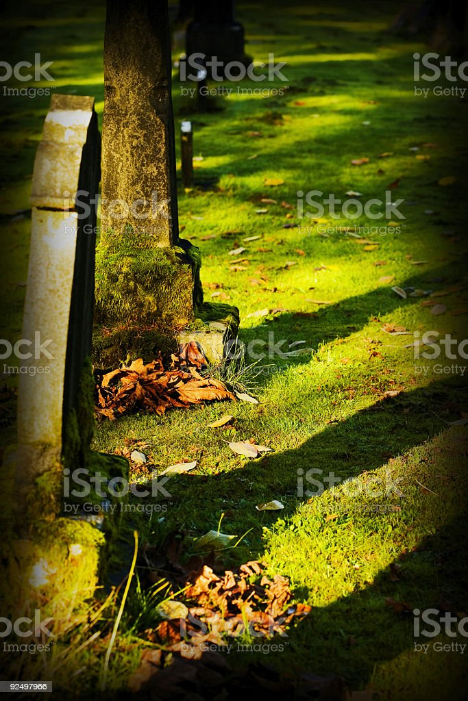 Grave Times royalty-free stock photo