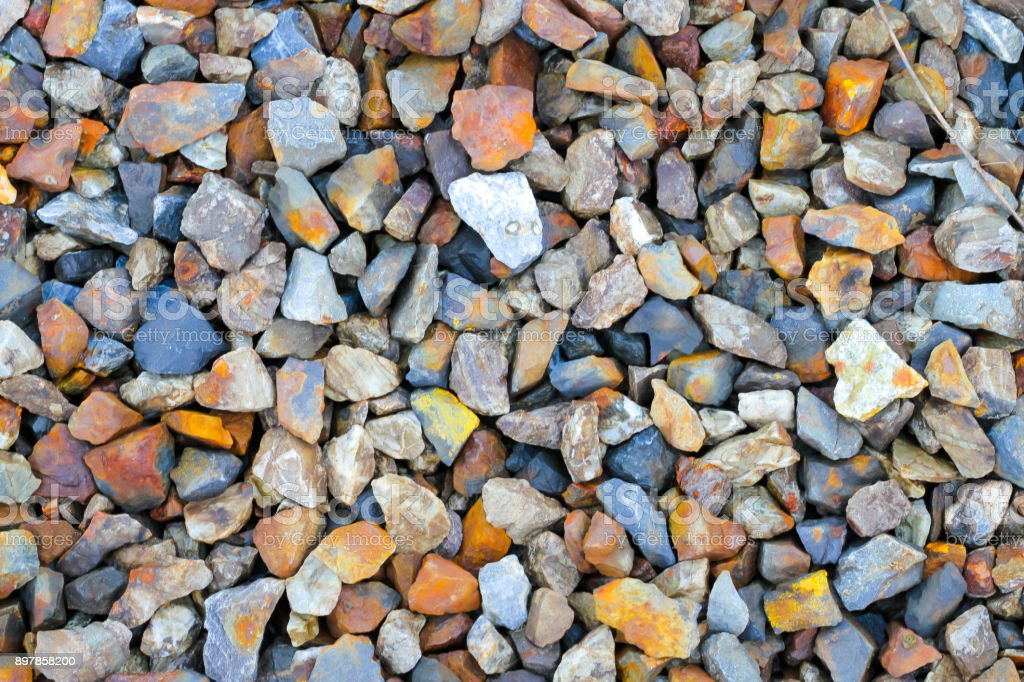 gravel aggregate abstract background stock photo