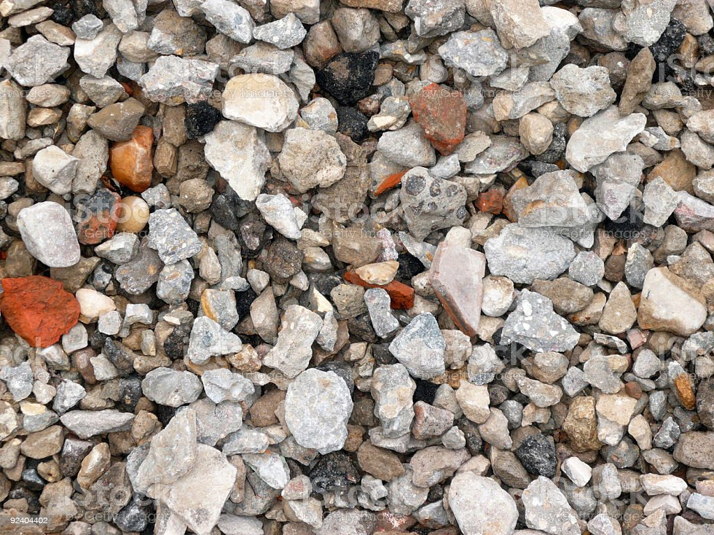 gravel for background royalty-free stock photo