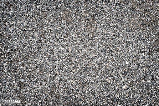 gravel ground full frame background