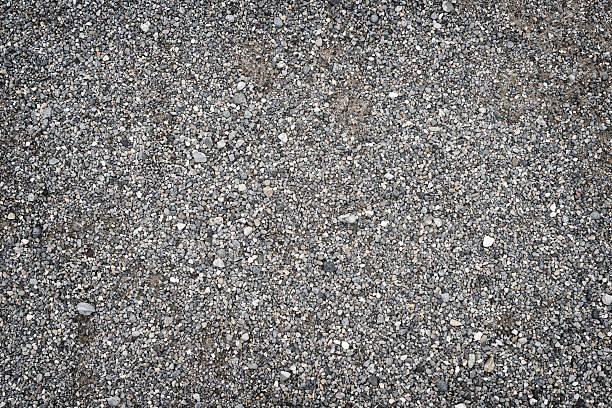 gravel ground full frame background - grind stockfoto's en -beelden