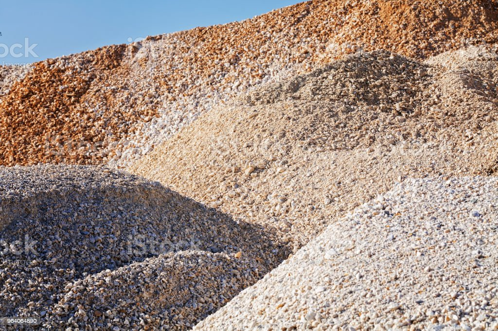 gravel in construction - Royalty-free Abstract Stock Photo