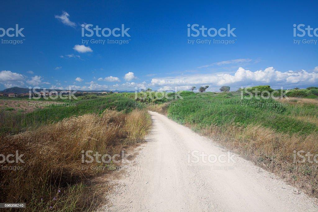 Gravel Path royalty-free stock photo