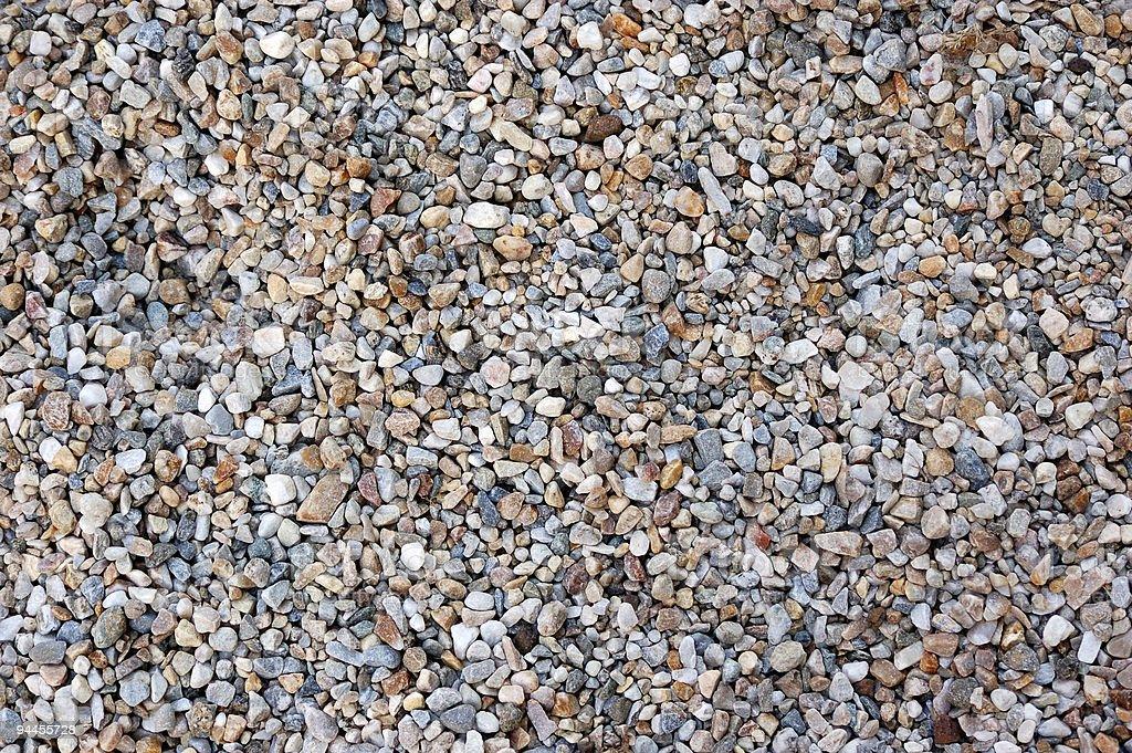 gravel pattern royalty-free stock photo