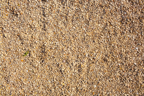 Gravel with copyspace