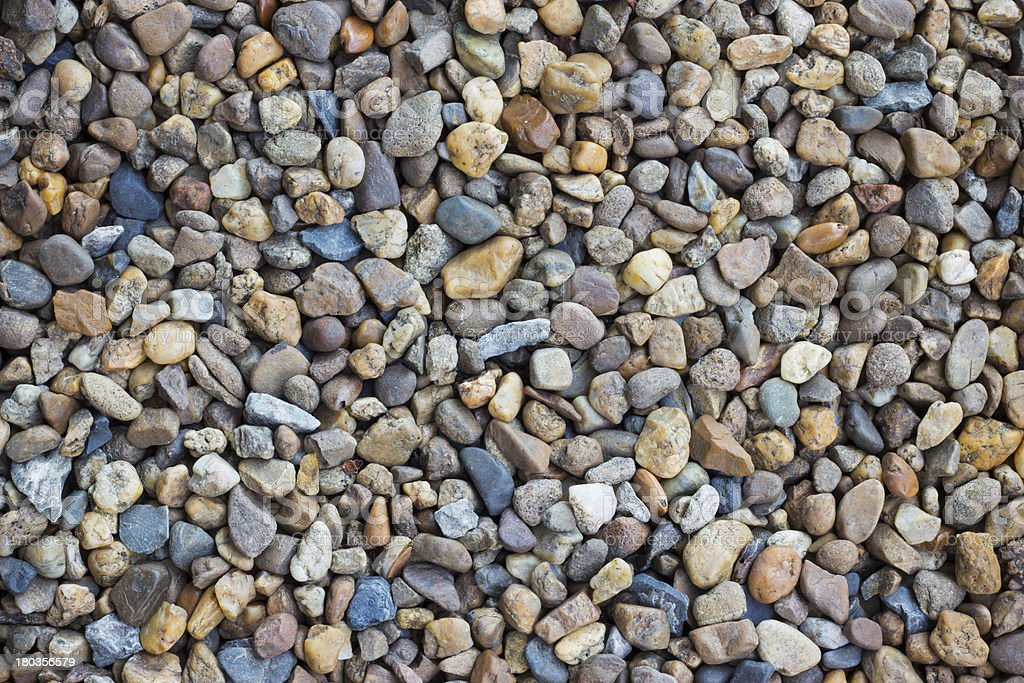 Gravel royalty-free stock photo
