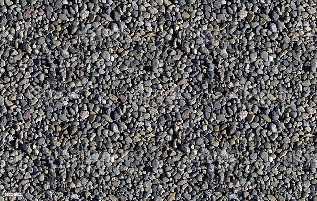 Ghiaia (Seamless Tile foto stock royalty-free