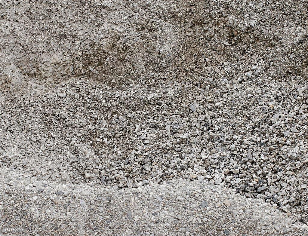 gravel pit royalty-free stock photo