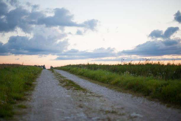 Schottergestein road – Foto