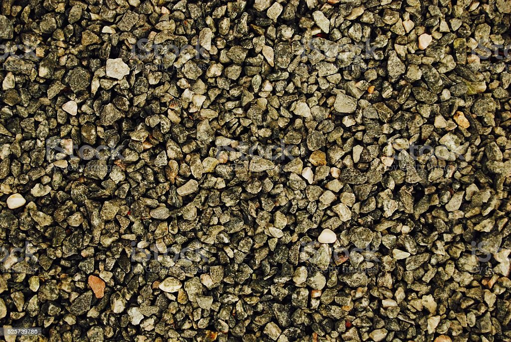 Gravel Stone Texture Background stock photo