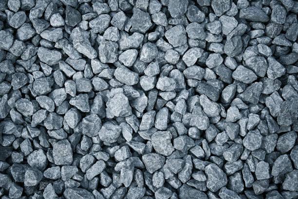 gravel stones background - grind stockfoto's en -beelden