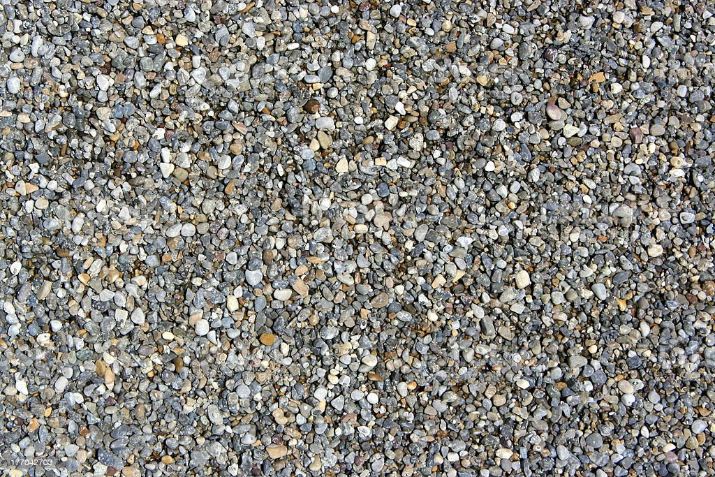 Gravel stones stock photo