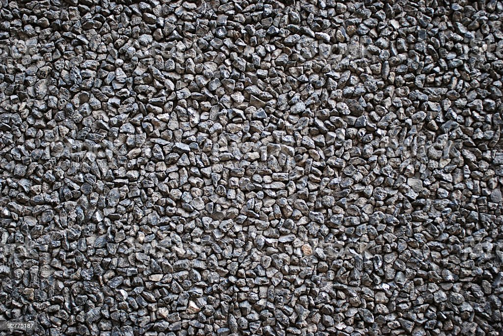 Gravel texture background stock photo