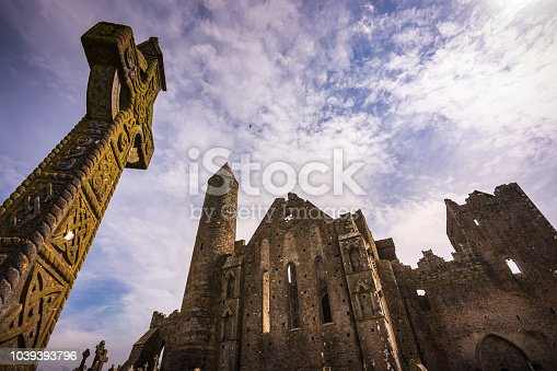 The Rock of Cashel is one of Ireland's most spectacular historic sites. A prominent green hill, with limestone outcrops, rises from a grassy plain. On the hill, walls surround a round tower, a13th-century Gothic cathedral and the finest 12th-century Romanesque chapel in Ireland.