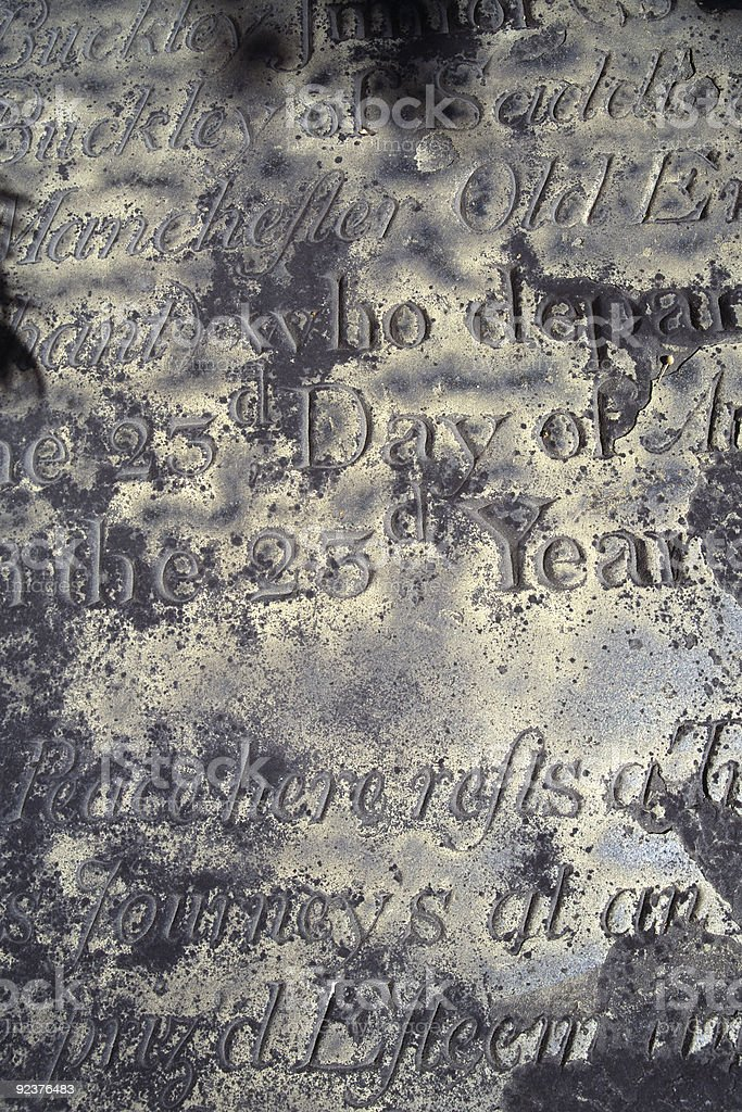 Gravestone background royalty-free stock photo