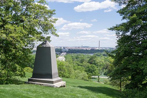 Gravestones in Arlington National Cemetery